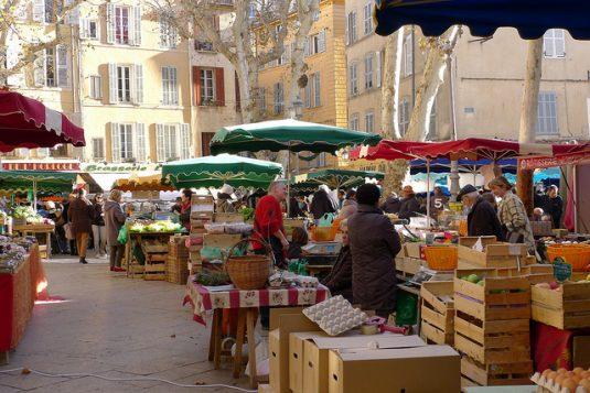 Herrlich ruhig ist es in Aix-en-Provence