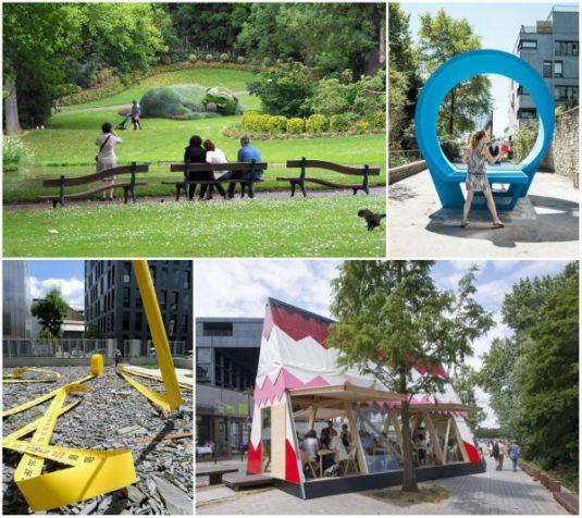 Nantes tolle Stadt im Westen Frankreichs