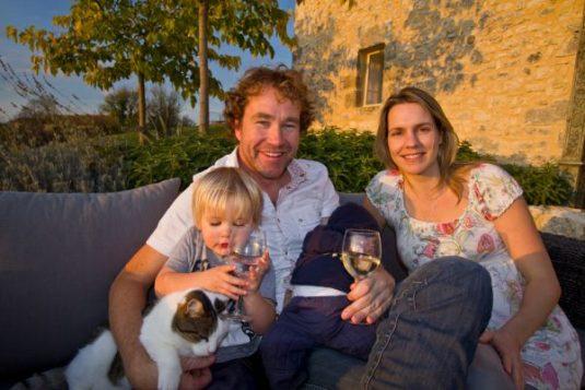 Marthijn une Irene von Ferienwohnung und B&B Le Cariol im Dordogne