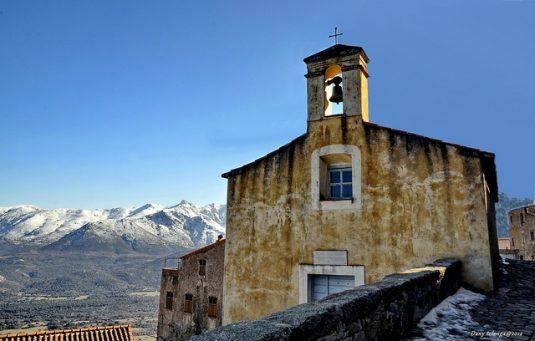 Das Bergdorf San'Antonio in Balagne