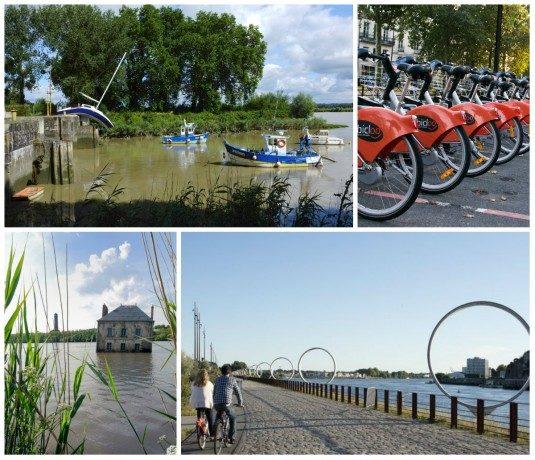 Nantes Fahrrad tours und Kunst