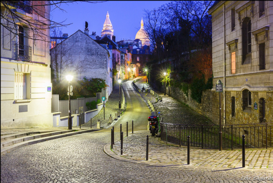 Silvester in Paris - Montmartre