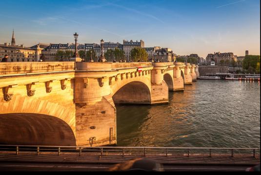 Paris - Neues Jahr ohne Auto - Pont Neuf Seine