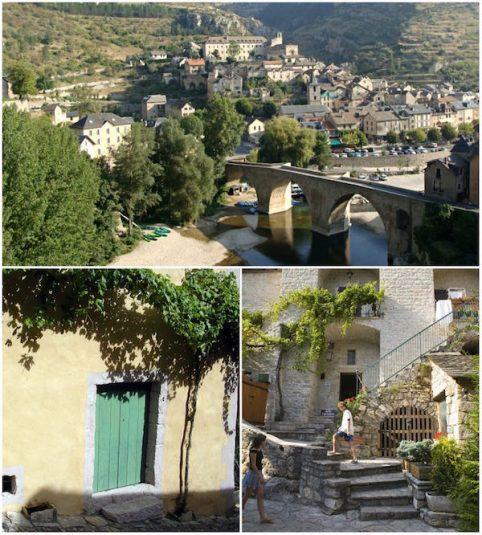 Dorf Sainte-Enimie Lozère
