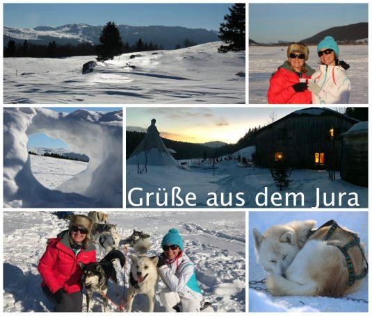 Winter Erlebnis in dem Jura