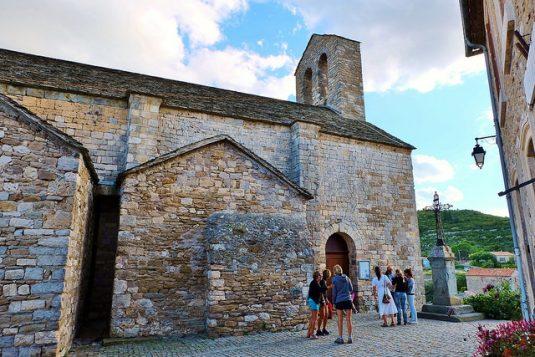 Mittelalterliches Dorf Minverve