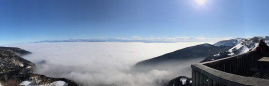 Panorama von Montagnes de Jura