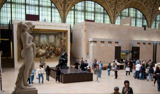 Musee d'Orsay Paris hotspot