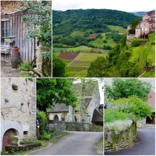 Chateau Chalon - Jura-Weingebiet