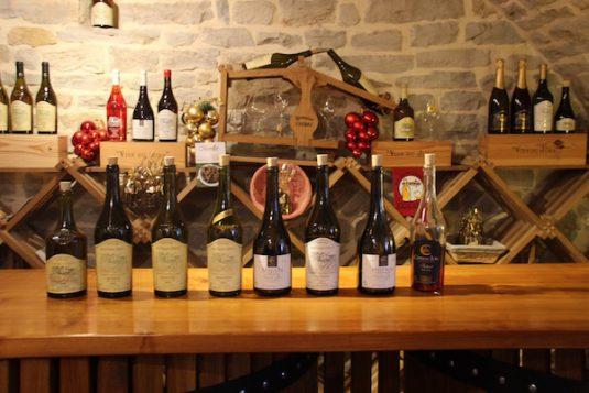 Cotes du Jura -verschiedene Weinsorte