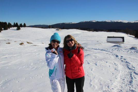 Josee und Carole Montagnes du Jura