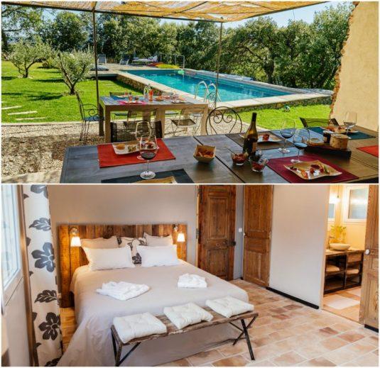 Wunderbare Ferienhäuser und All-inklusive Aufenthalt im Clos les Coustoulins - Languedoc-Roussillon