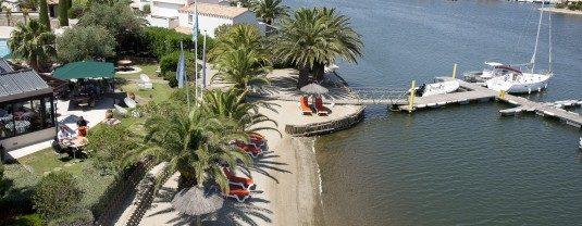 Hotel nahe Saint-Cyprien Plage