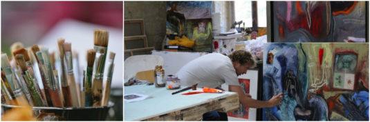 Kids Art Workshop Le Cariol Dordogne