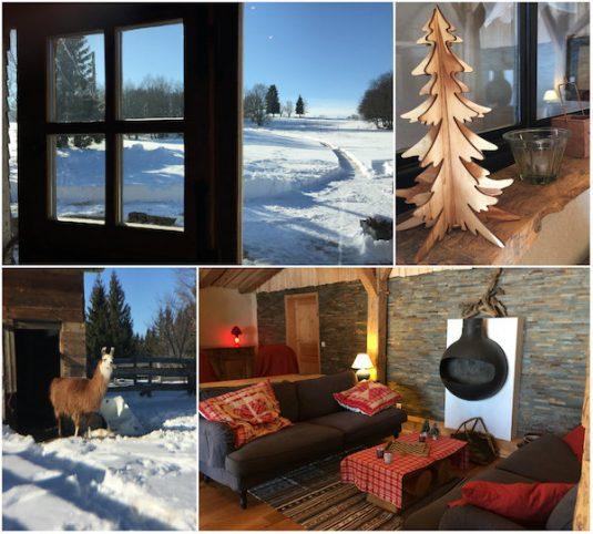 Unterkunft Les Loges du Coinchet im Parc Régional du Haut-Jura