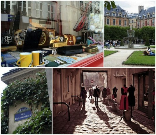 Shoppen in Paris - Marais und Haud-Marais