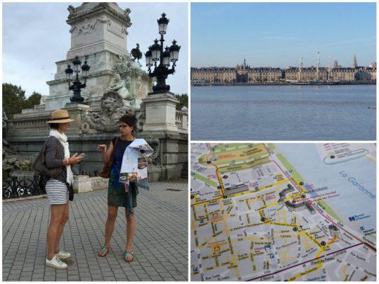 Spaziergang Sehenswuerdigkeiten in Bordeaux