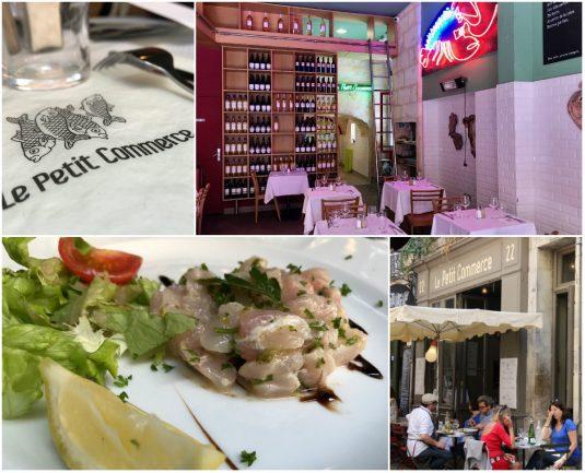 Fischrestaurant La Petit Commerce Bordeaux