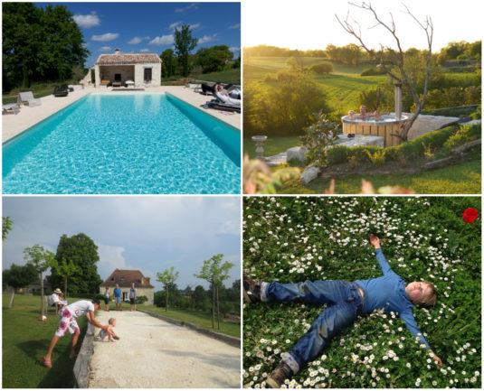 Gite und familiensuites Le Cariol in der Dordogne