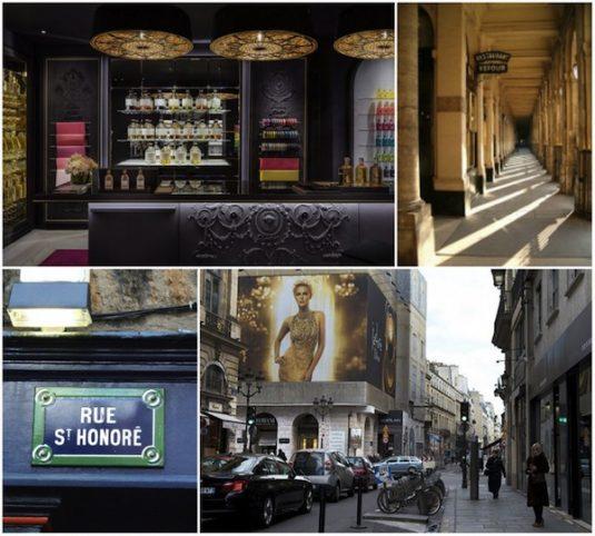 Paris rue Saint Honoré