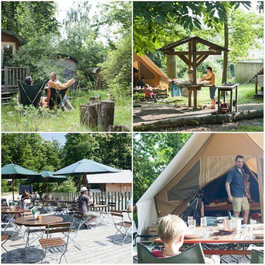 Camping Huttopia Versailles im Umkreis von Paris