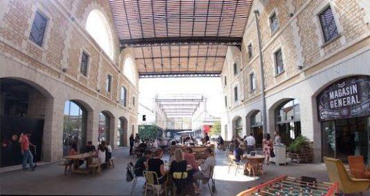 Darwin, nicht mehr genutzten Kaserne in Bordeaux