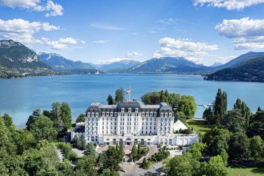 Imperial Palace von Annecy: Belle Epoque-Atmosphäre