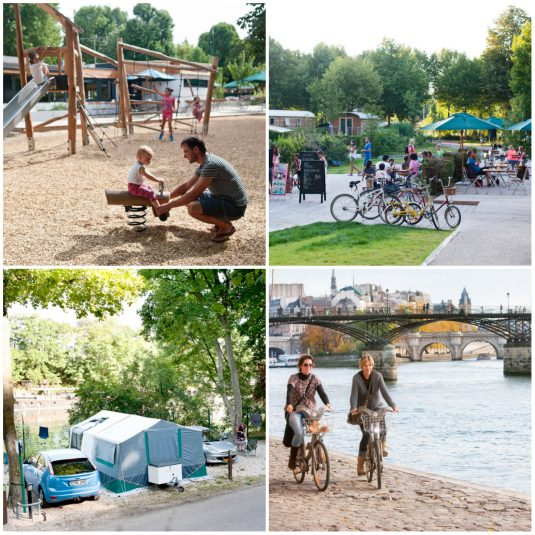 Indigo Camping Paris Bois-de-boulogne: Campingplatz innerhalb der Stadtgrenze
