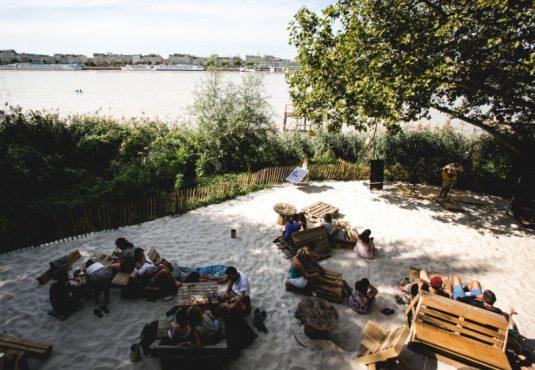 Pub / Sandtrand Les chantiers de la Garonne in Bordeaux