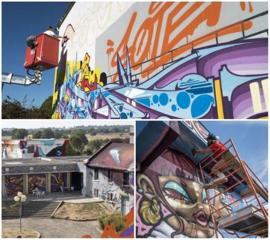 Street Art City Graffitikunst