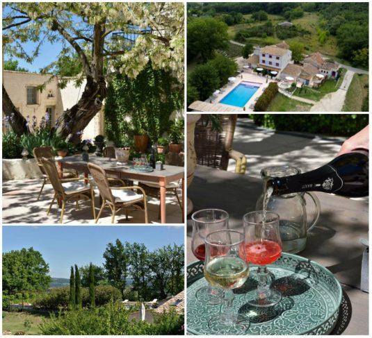 Urlaubsunterkunft Bois des Dames Hotel Drome Provencale
