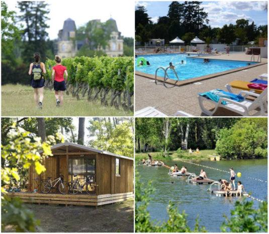 Camping Angers – Lac de Maine, ein Campingplatz in natürlicher Lage an einem großen Badesee