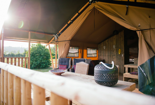 Glamping Dordogne Club les Ormes