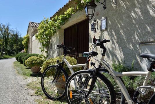 Die Drôme mit dem Rad erkunden