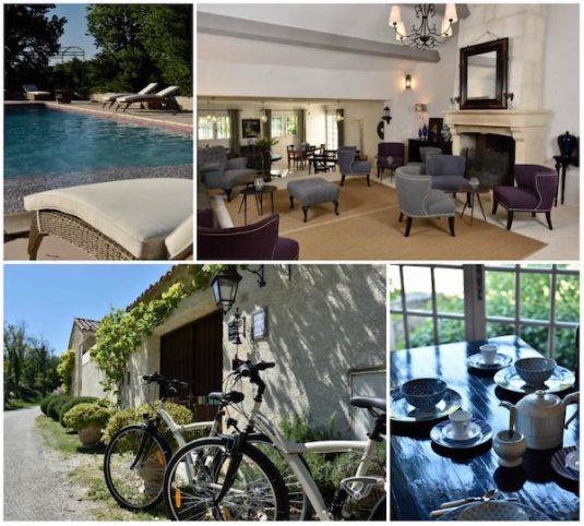 Relaxen im Hotel Le Bois des Dames in der Drome Provencale