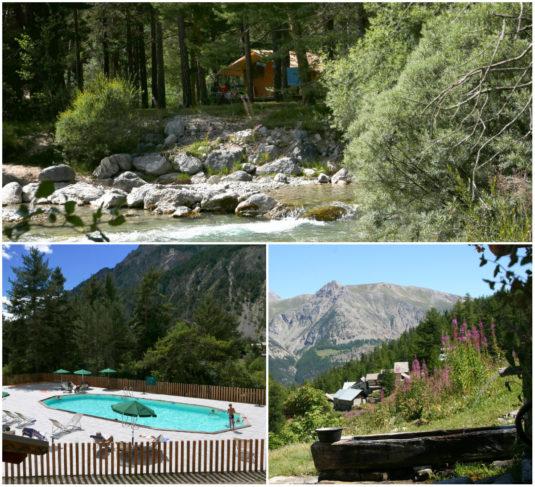 Huttopia camping la Clarée Hautes Alpes