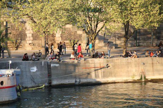 Seine-Ufer - Paris Park Rives de Seine - Ufer der Seine