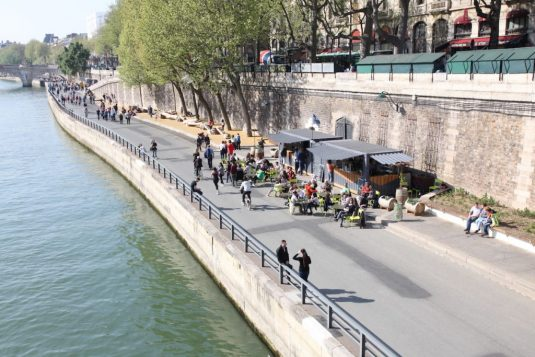 Rives de Seine in Paris