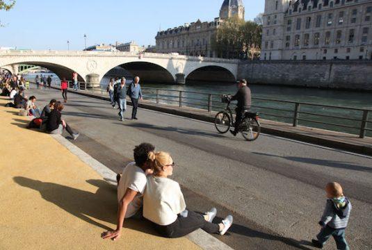 Park Paris Rives de Seine: ein Ort der Erholung