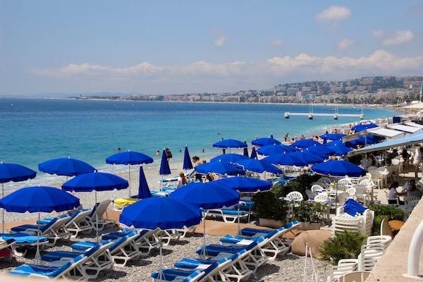 Strand von Nizza - Alpes-Maritimes