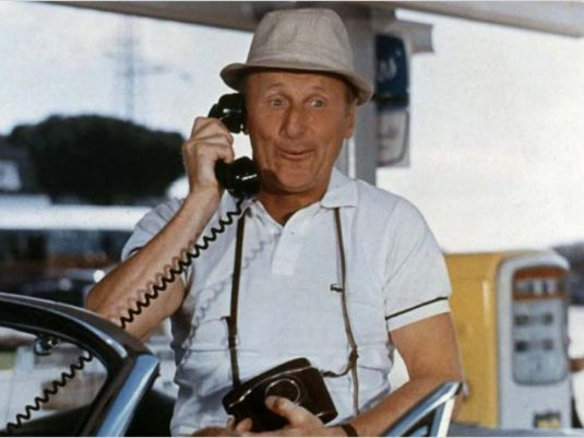 Bourvil on the Phone