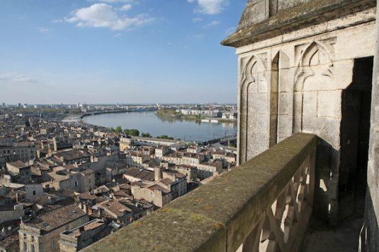 Aussicht von der Flêche Saint-Michel