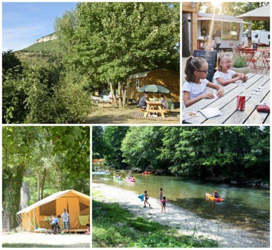 Natur-Camping in Millau