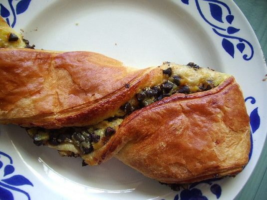 Viennoiseries beim französischen Bäcker: Pain Suisse