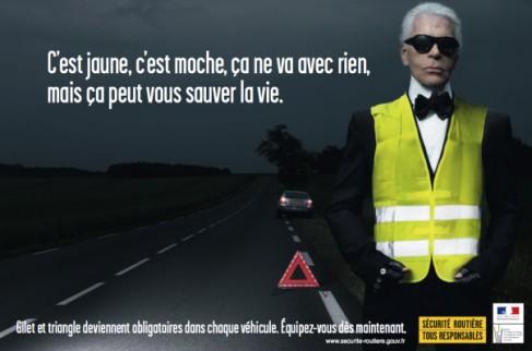 Seit 2008 ist das Mitführen eines Warndreiecks und einer reflektierenden Sicherheitsweste (eine für JEDEN Insassen!) in Frankreich Pflicht.