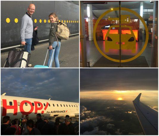 Flug nach Nantes mit Air France - Campingurlaub Atlantikküste