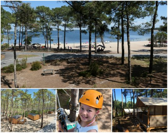 Campingplatz La Dune Bleue - Natur pur - Atlantikküste