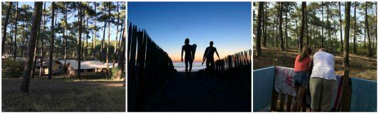 Campingplatz La Dune Bleue - Natur pur - Atlantikküste - Carcans Plage