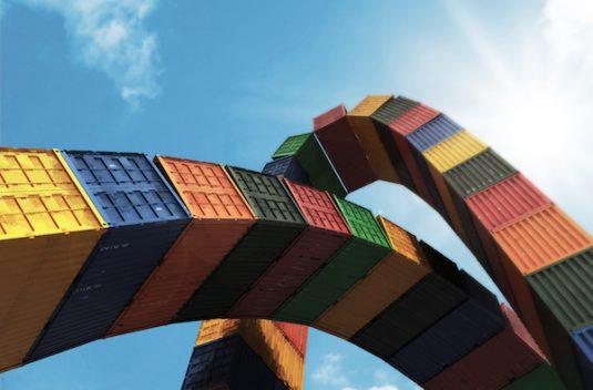 Catène de container, Vincent Ganivet