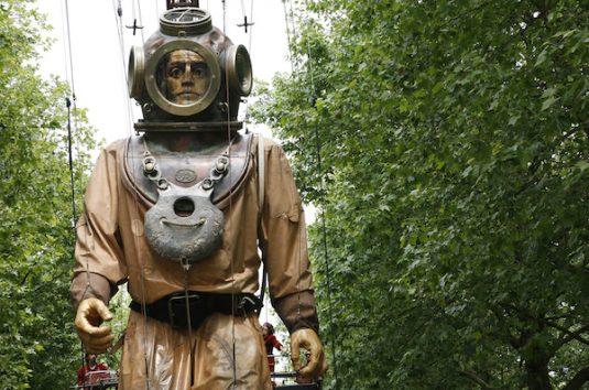Die Marionetten van Royal de Luxe